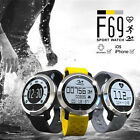 F69 Bluetooth Smart Watch Sport Pedometer Tracker Fitness Heart Rate Monitor US