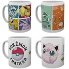 Official POKEMON Ceramic MUG 10oz (& Gift Box) Choice Of 4 Designs (Cup/Xmas)