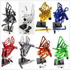 For BMW S1000R 2015-2017 CNC Rearsets Foot Pegs Footrest Rear Set Both 2 Sides