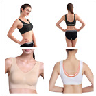 Womens Seamless Bra Leisure Crop Top Vest New SPORTS BRAS Bandeau Comfort Comfy#