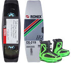 RONIX PRESS PLAY ATR S 141.1 2016 inkl. PARKS Boots iridescent lime Wakeboard