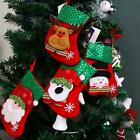 Christmas Party Santa Socks Xmas Tree Hanging Ornaments Festival Decoration - LD