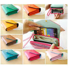 New Ladys Women Girls Leather Wallet Bag Porch Phone Flip Case For Iphone 5 5S