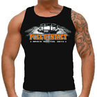 TANK TOP VEST TSHIRT MMA FULL CONTACT GYM FOR SPORT TRAINING MMA CASUAL WEARS!