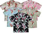 Red Ginger classic Paradise Found aloha shirt   (MS172)