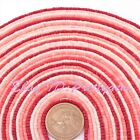 2x2mm Natural Drum Orange Coral Gemstone Beads For Jewelry Making Strand 15""