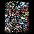 Colored Clowns Size 2 X Large-11/12 X Large Mens Tank Top