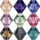 DIY Wholesale 4mm Bicone Faceted Bead Crystal Glass Loose Spacer Beads Lot AB