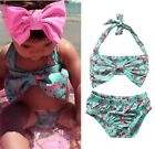 Toddler Kids Baby Girls Tankini Bikini Set Swimwear Swimsuit Bathing Suit Beach