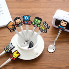 Super hero Cartoon Stainless Steel Coffee Tea Spoon Kids Children Tableware
