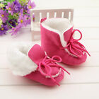 NEW HOT Pink/Red Baby Boy Girl Infant Toddler Winter Fur Shoes Snow Boots Warm