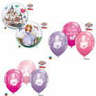 DISNEY SOFIA THE FIRST Qualatex Latex & Bolle Palloncini Bambini Compleanno/