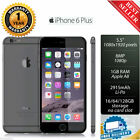 Apple iPhone 6 Plus 16/64/128GB Grey/Gold/Silver Factory Unlocked 1GB 8.0MP A+++
