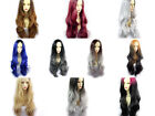 Wiwigs ® Gorgeous Long Wavy Wigs Blonde Grey Blue Red Brown Ombre Hair