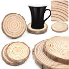 Tea Coasters Cup Holder Mug Mat Coffee Drink Natural Wood Coaster Home Decor
