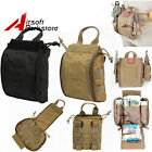1pc Tactical Airsoft Hunting MOLLE Medical First Aid Pouch EMT EDC Tools Bag