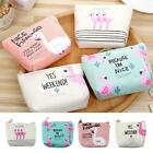 Fashion Cute Women's Girl Portable Cartoon Change Coin Purse Case Make up Bag