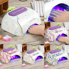 Professional 48W Nail Dryer CCFL UV LED Lamp Gel Curing Timer Pedicure Machine
