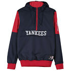 Majestic New York Yankee Baseball Pull Over Hooded Mens Jacket Navy A6NVY5512 P4