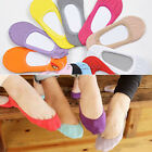 1/5 Pairs Ladies Liner Socks No Show Lace Boat Ballet Plain Footsie Cotton Socks