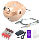 Professional Manicure 35000RPM Electric Drill File Nail Art Pen Machine Kit Set