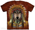 Wolf Spirit Chief - Manimal T-Shirt by The Mountain - Adult & Youth Sizes
