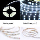 1M-20M SMD 3528 300Leds Waterproof Flexible Warm Cool White LED Strip Light 12V