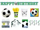 FOOTBALL PARTY Birthday PARTY NEW Tableware Balloons Decorations Supplies