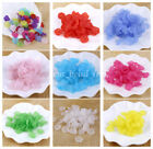 30Pcs Acrylic Flower Petals Beads Earring Pendant DIY Jewelry Making 15mm