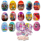 6 x Character SURPRISE EGGS - Sweets & Toys - Party Gifts - PACK OF 6 FREE POST!