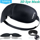 Lumsing 3D Eye Mask Soft Padded Cover Eyepatch Travel Rest Blindfold Sleep Aid