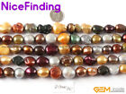 """Natural Freeform Multi Color Freshwater Pearl Stone Beads For Jewelry Making 15"""""""