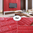 3D Foam Brick Waterproof Self-adhesive Wall Sticker Wallpaper Decor 10pcs