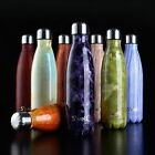 UK 500ml Water Bottle Vacuum Insulated Flask Thermal Sports Chilly Hot/Cold Cups