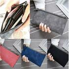 Women Girl Long PU Leather Purse Wallet Card Holders Mobile Thin Zip Handbag LD