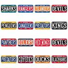 Wincraft NHL License Plates - Pick Your Team - FREE SHIPPING $8.99 USD on eBay