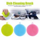 4.5inch Multipurpose Food Grade Antibacterial Silicone Smart Sponge Dish Kitchen