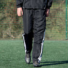 Precision Ultimate Sport Tracksuit Trouser Sweat Pant Black/Silver/White rrp£25