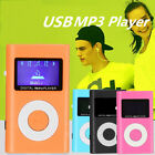 Mini MP3 Music Media Player LCD Screen Support 32GB Micro SD TF Card for Running