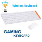 New Game Wireless 2.4G Keyboard and Mouse Set Kit + USB Receiver for Computer PC