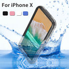 360° Waterproof Swimming Dirt Shockproof Full Cover Underwater Case For iPhone 8