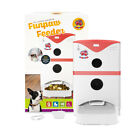 FunPaw 6L Automatic Pet Cat Dog Feeder Scheduled Food Portion Mic/Speaker/Camera