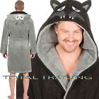 MENS DRESSING GOWNS hooded ROBES MONKEY WOLF GORILLA ape snuggle cosy