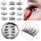 Chic 8 Pcs 3D Magnetic False Eyelashes Natural Eye Lashes Extension Handmade SS