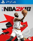 New Sony PS4 Games NBA 2K18 HK version Chinese / English