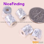 20Pcs Bright Tibetan Silver Bail Style Spacer Craft Findings For Jewelry Making