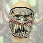 New Neoprene Full Face Mask Halloween Outdoor Sports Motorcycle Cycling S0BZ