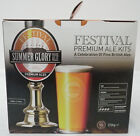 Festival Summer Glory Golden Ale 5% abv Homebrew Gold Beer Kit Makes 40 Pints
