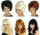 Ladies Beehive Wig 60's Fancy Dress