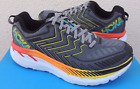 Hoka One One Clifton 4 Castlerock Atomic Blue Running Shoe Mens sizes 7 15 NEW